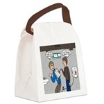 Hand Dryer Jetpack Canvas Lunch Bag