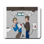 Hand Dryer Jetpack Mousepad