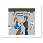 Hand Dryer Jetpack Small Poster
