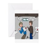 Hand Dryer Jetpack Greeting Cards (Pk of 20)