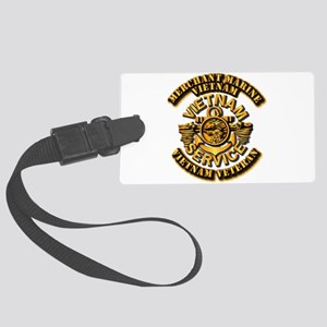 Usmm - Merchant Marine Vietnam Large Luggage Tag