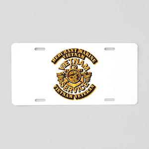 Usmm - Merchant Marine Aluminum License Plate