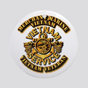 Usmm - Merchant Marine Vietnam Ornament (round)