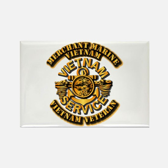 Usmm - Merchant Marine Vietnam Vet 1 Magnets