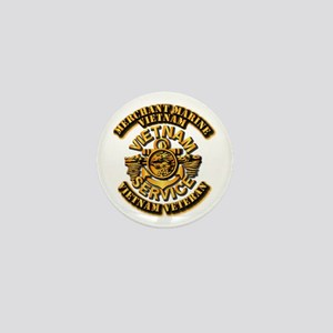 Usmm - Merchant Marine Vietnam Vet 1 Mini Button