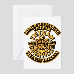 Usmm - Merchant Marine Vietnam Vet Greeting Cards