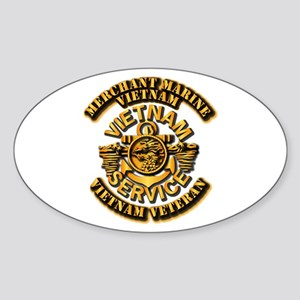 Usmm - Merchant Marine - Vietnam Vet - 1 Sticker (
