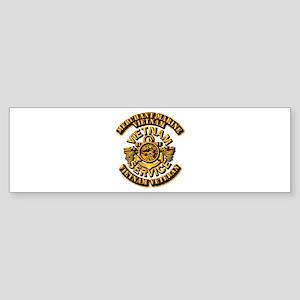 Usmm - Merchant Marine Vietnam Vet Bumper Sticker