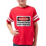 FIN-warning-beer-sing.png Youth Football Shirt