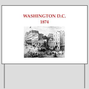 WASHINGTON Yard Sign