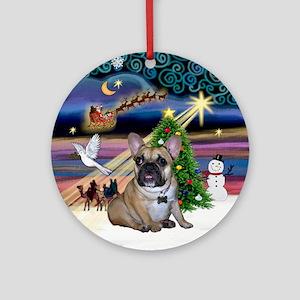 Xmas Magic & FBD (GG) Ornament (Round)