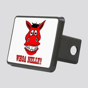 Horse Says Whoa Nelly Rectangular Hitch Cover