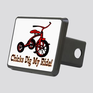 Dig My Ride Rectangular Hitch Cover