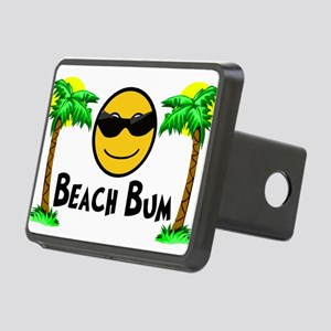 Beach Bum Rectangular Hitch Cover