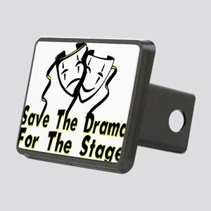 Save The Drama Rectangular Hitch Cover