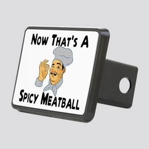 Spicy Meatball Rectangular Hitch Cover