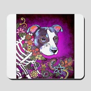 Dia los muertos dog, Pit bull Mousepad