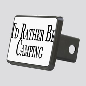 Rather Be Camping Rectangular Hitch Cover