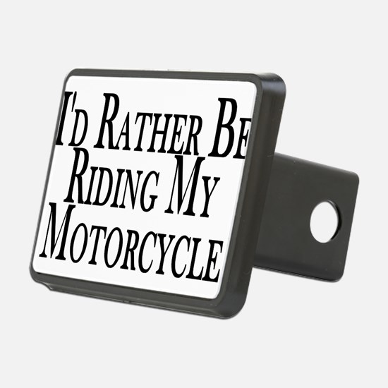 Funny Motorcycle Hitch Cover
