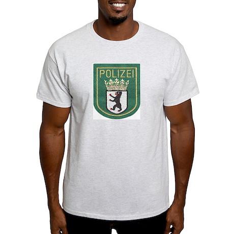 Berlin Police Ash Grey T-Shirt