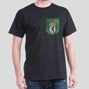 Berlin Police Dark T-Shirt
