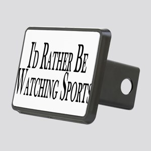 Rather Watch Sports Rectangular Hitch Cover