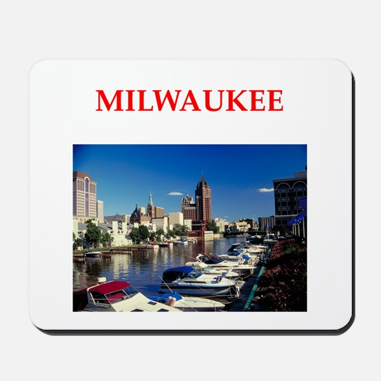 milwaukee Mousepad