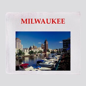 milwaukee Throw Blanket