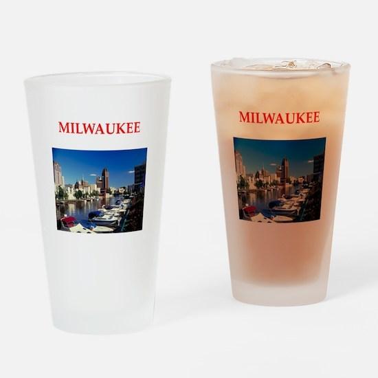 milwaukee Drinking Glass