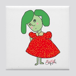 Stupid Girl Tile Coaster