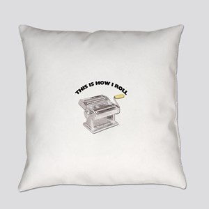 How I Roll Pasta Everyday Pillow