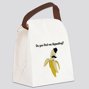 Appeeling Canvas Lunch Bag