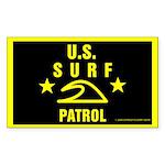 U.S. SURF PATROL Rectangle Sticker