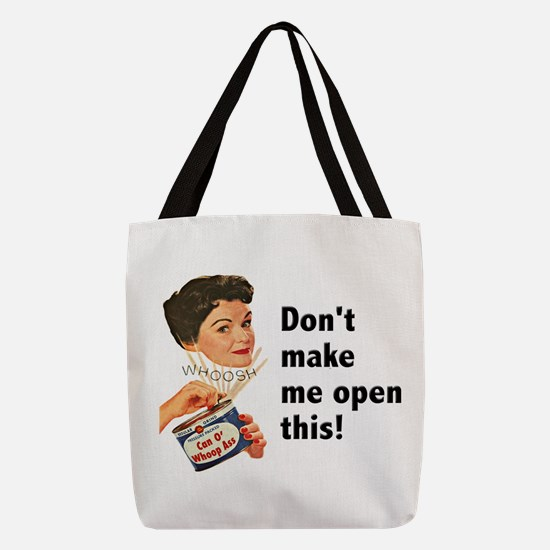 FIN-whoop-ass.png Polyester Tote Bag