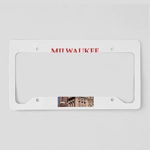 MILWAUKEE License Plate Holder