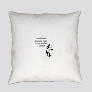 FIN-kitchen-cat Everyday Pillow