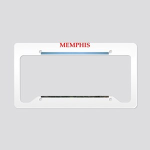 memphis License Plate Holder