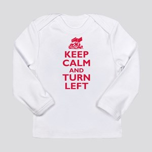 Keep Calm and Turn Left Long Sleeve T-Shirt