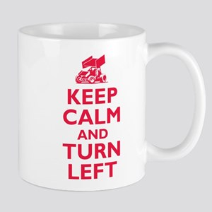 Keep Calm and Turn Left Mug