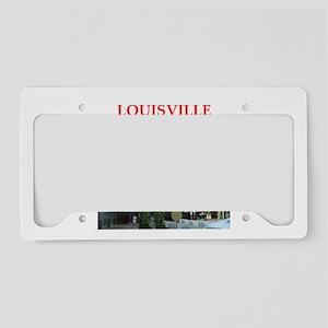 louisville License Plate Holder