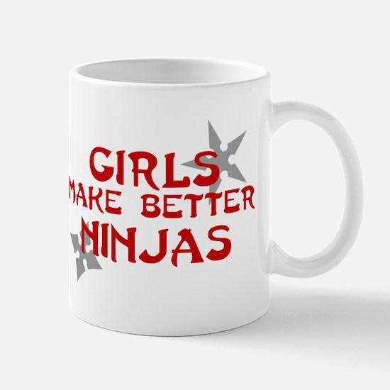 Girls make better ninjas Mug