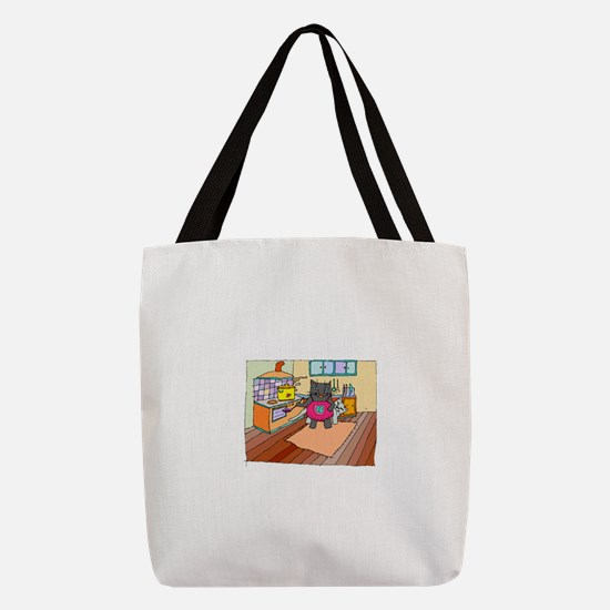 FIN-chef-cats-cooking.png Polyester Tote Bag