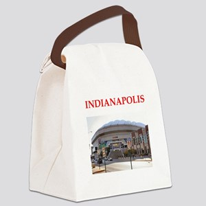 indianapolis Canvas Lunch Bag
