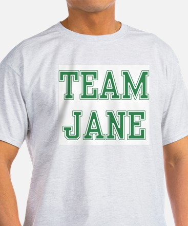 TEAM JANE  Ash Grey T-Shirt