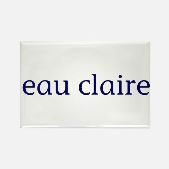Eau Claire Rectangle Magnet