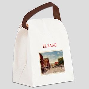 el paso Canvas Lunch Bag