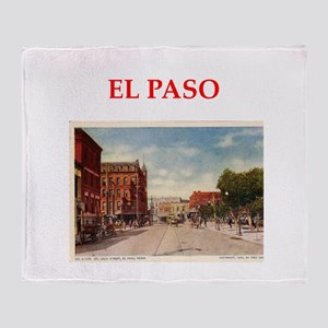 el paso Throw Blanket