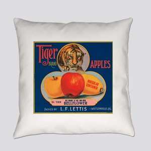 FCL-tiger-brand-apples Everyday Pillow