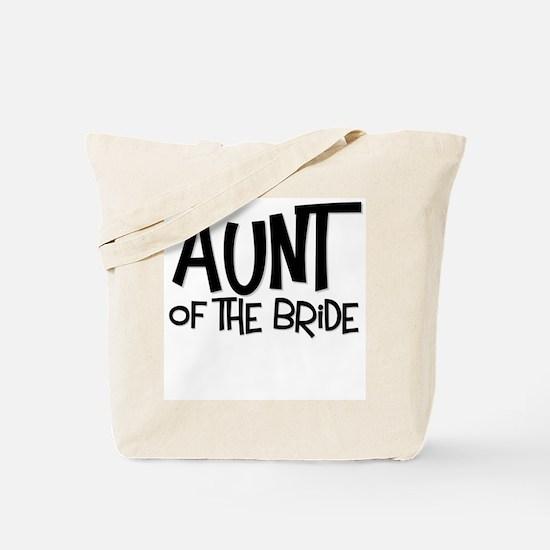 Hipster Aunt of Bride: Coal Tote Bag