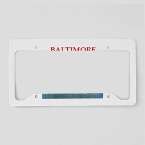BALTIMORE License Plate Holder